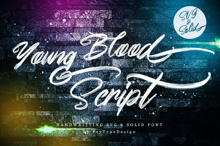 Cover Image For Young Blood - SVG & Solid
