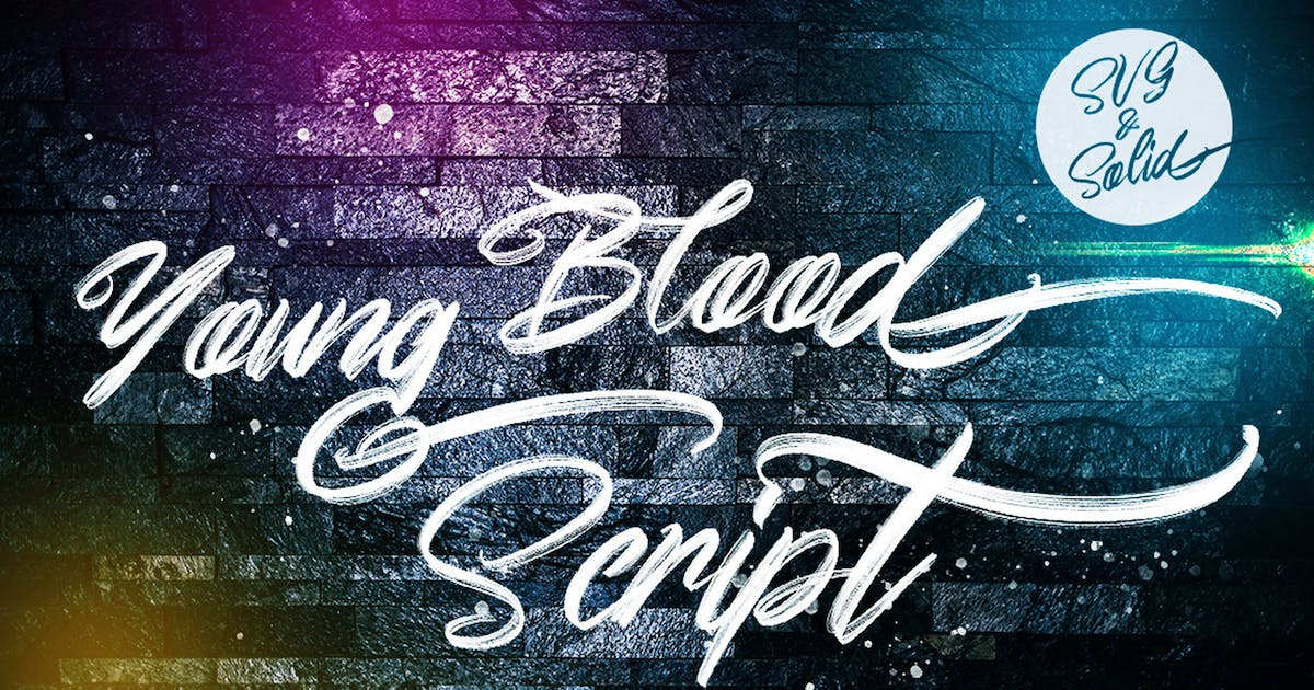 Download Young Blood - SVG & Solid by Voltury