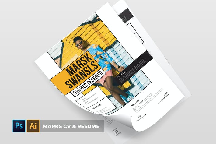 Thumbnail for Marks | CV & Resume