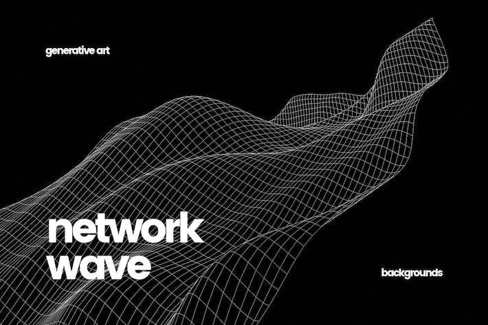 Thumbnail for Smooth Network Wave Backgrounds