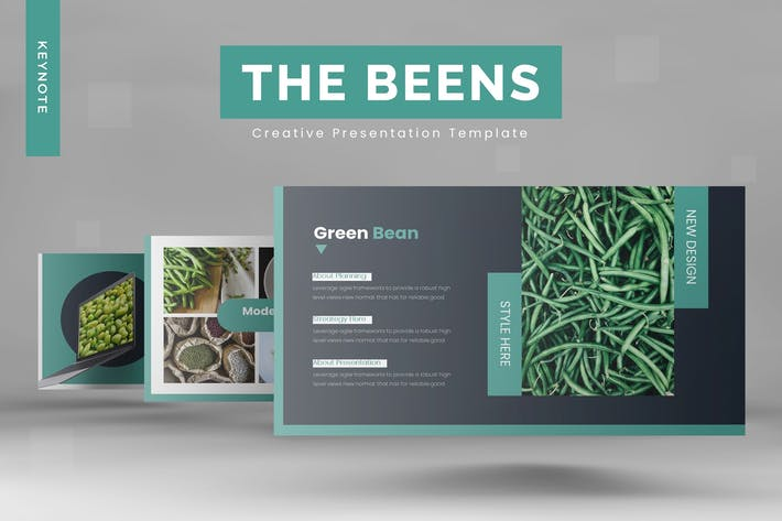 Thumbnail for The Beens - Keynote Template