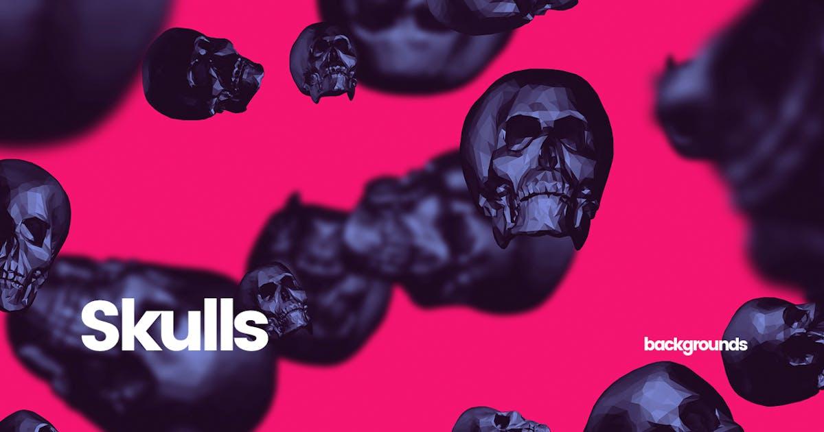 Download Skulls - Happy Halloween Backgrounds by themefire