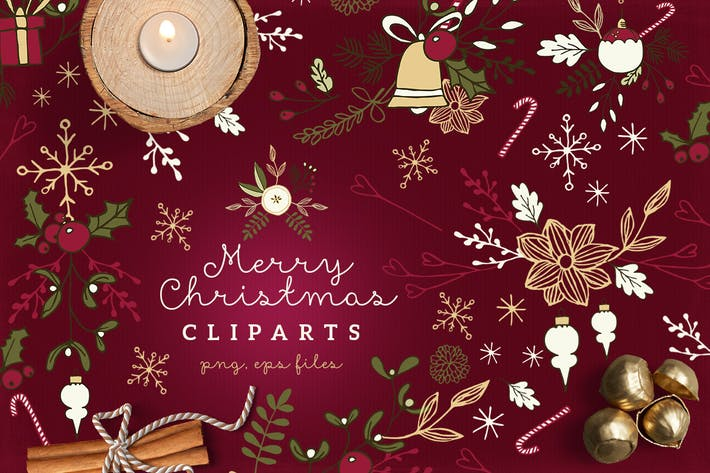 Thumbnail for Christmas Cliparts