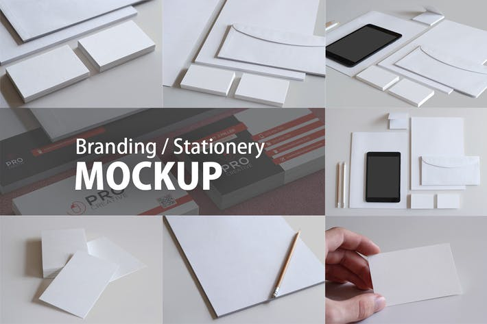 Thumbnail for Branding / Stationery Mockups