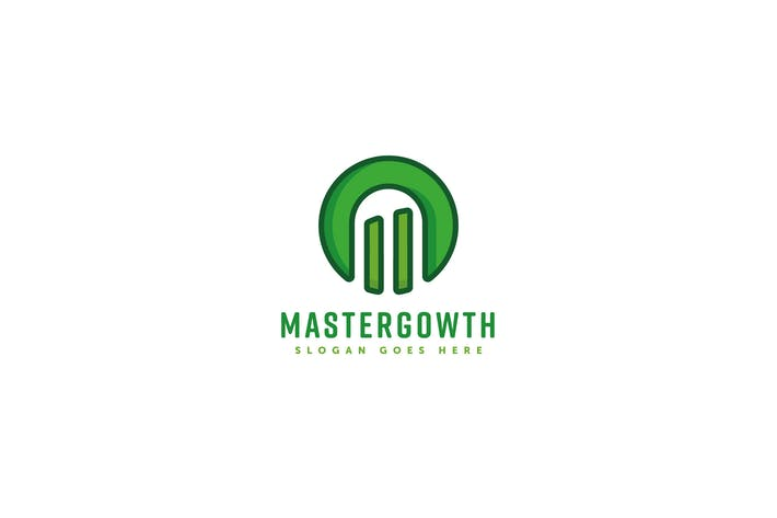 Thumbnail for Master Growth Logo Template