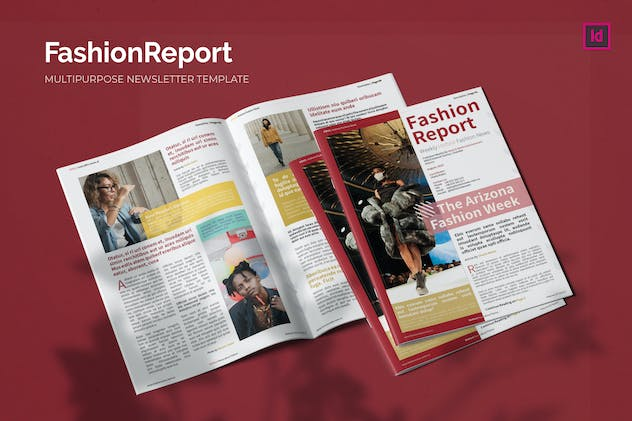 Fashion Report - Newsletter Template