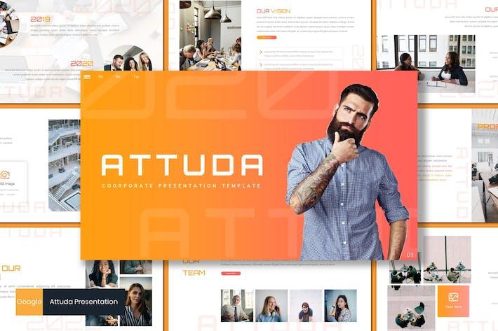 Thumbnail for Attuda - Business Google Slides Template