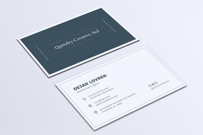 Thumbnail for Minimalist Business Card Vol. 17
