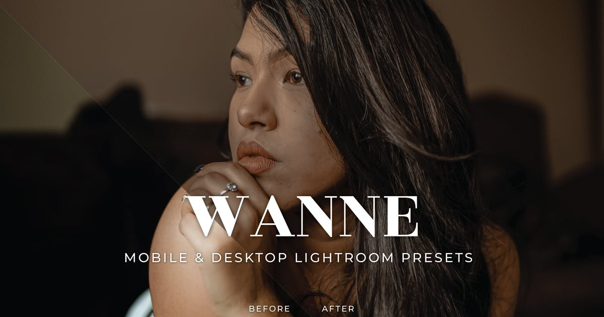 Download Wanne Mobile and Desktop Lightroom Presets by Laksmitagraphics