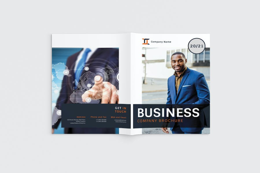 Workfice - A4 Business Brochure Template