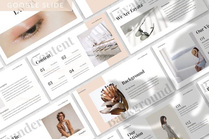 Thumbnail for Layata - Brand Identity Google Slide Template