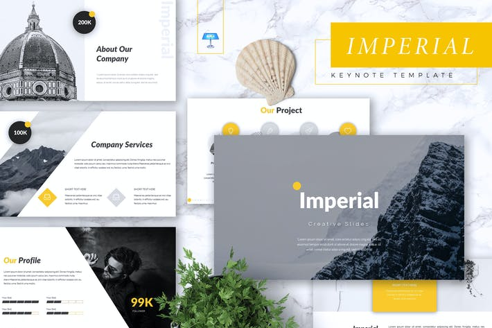 Thumbnail for IMPERIAL - Business Keynote Template