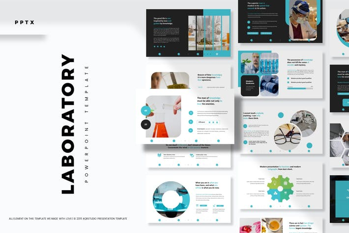 Laboratory - Powerpoint Template