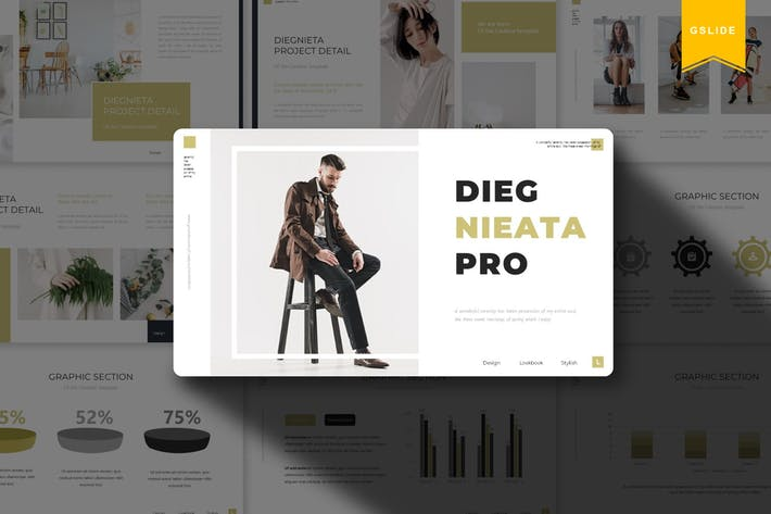 Thumbnail for Diegnieta | Google Slides Template
