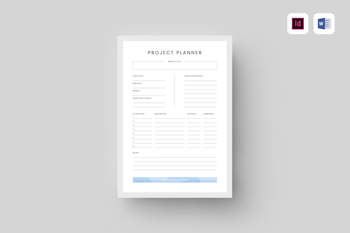 Thumbnail for Project Planner