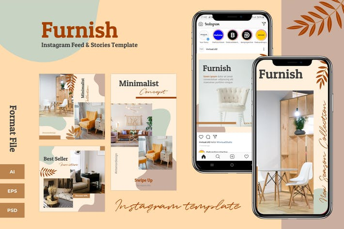 Furnish - Instagram Feeds & Stories Pack