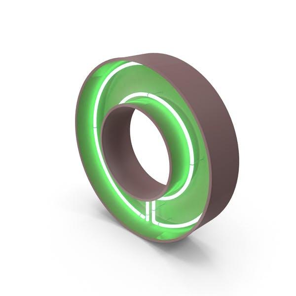Thumbnail for Neon Letter O
