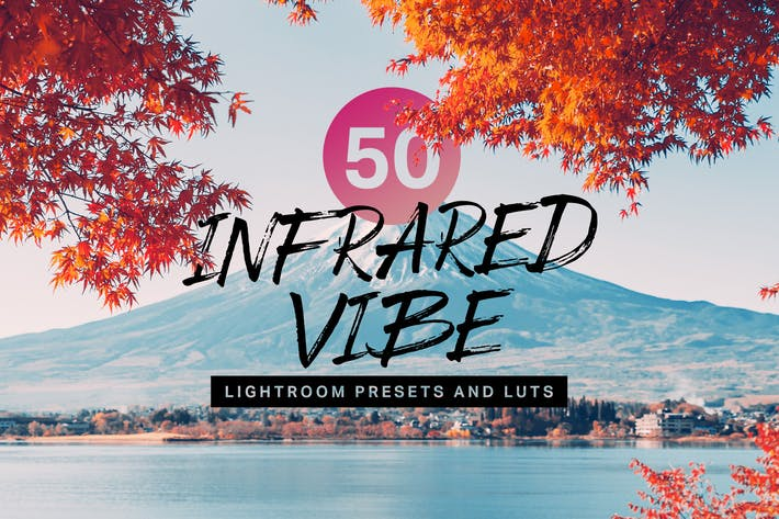 50 Infrared Vibe Lightroom Presets and LUTs