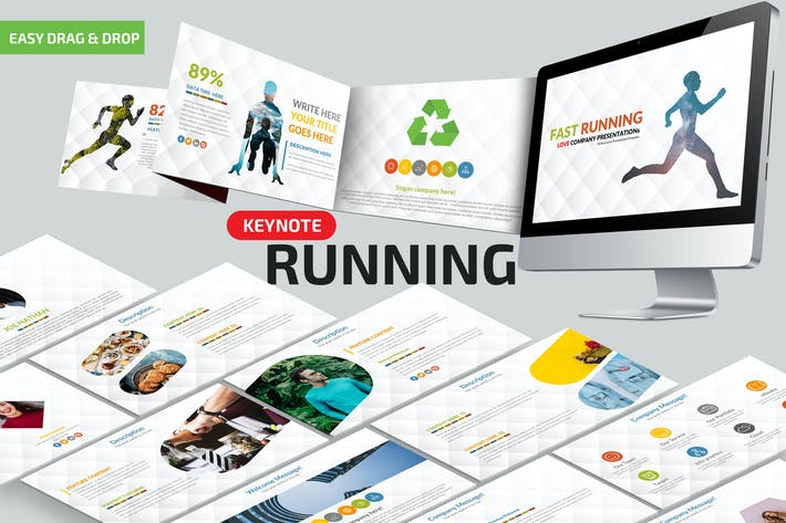 Cover Image For Fast Running Keynote Presentation