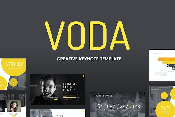 Thumbnail for Voda - Creative Keynote Template