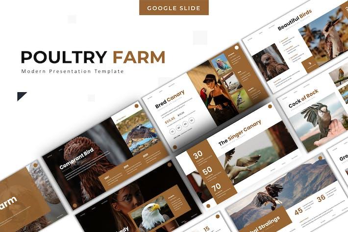 Thumbnail for Poultry Farm - Google Slide Template