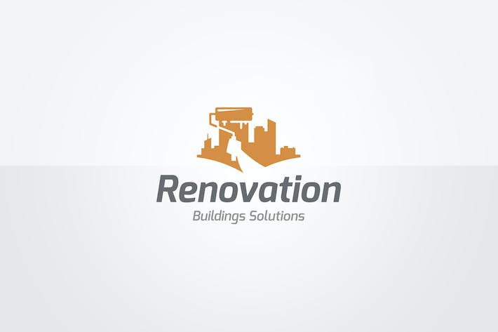Thumbnail for Renovation Logo Template