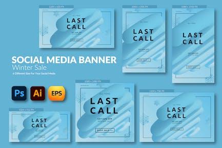 Winter Sale – Social Media Banner Template