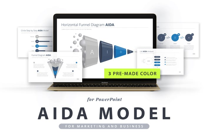 Thumbnail for AIDA model for PowerPoint