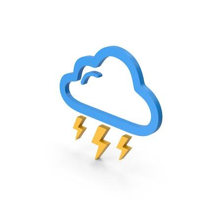 Symbol Weather Thunderstorm