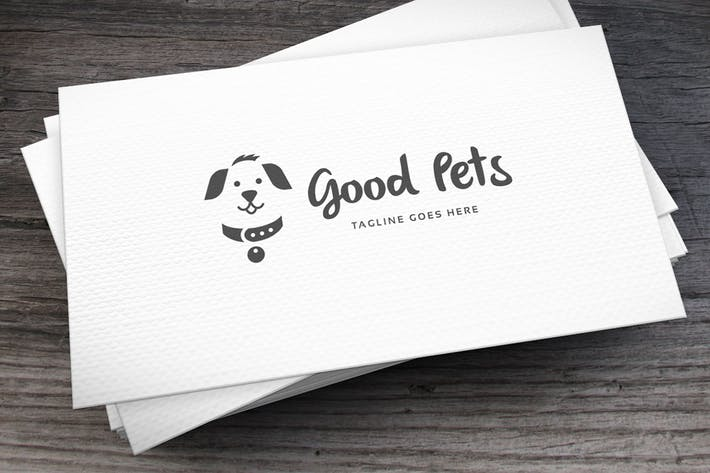 Thumbnail for Good Pets Logo Template