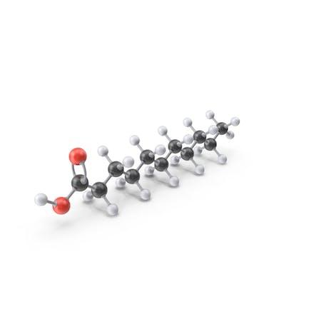 Undecylic Acid Molecule