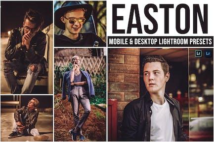 Easton Mobile and Desktop Lightroom Presets