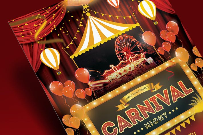 Thumbnail for Флаер карнавала