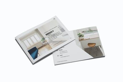 Furniture A5 Brochure Template