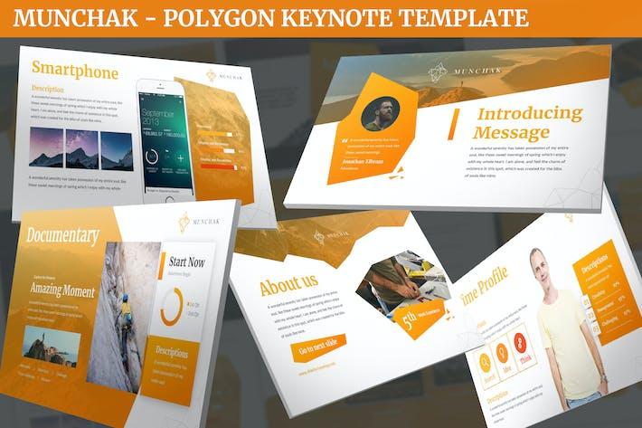 Munchak - Polygon Keynote Template