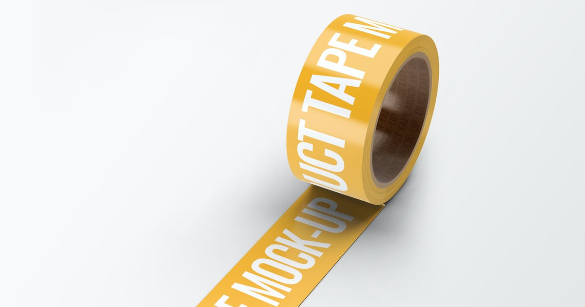 Duct Tape Mock-Up by L5Design on Envato Elements