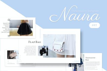 Naura - Feminine Powerpoint Template