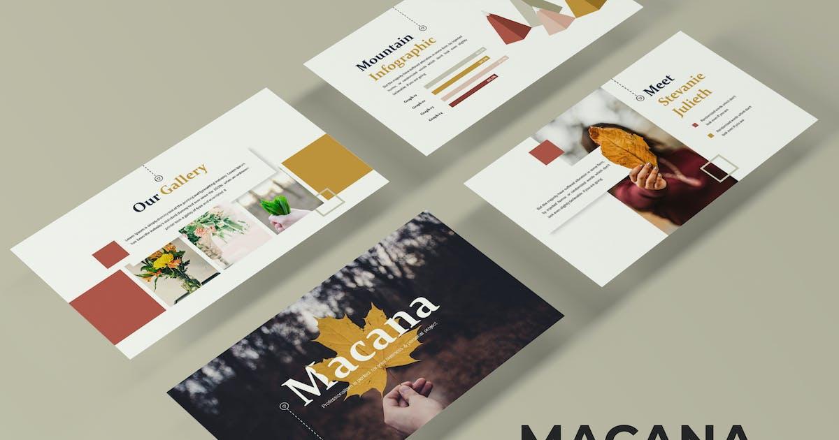 Macana - Powerpoint Template by IanMikraz