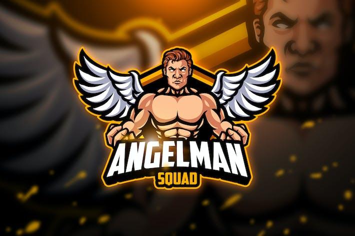 Thumbnail for Angelman - Mascot & Esport Logo