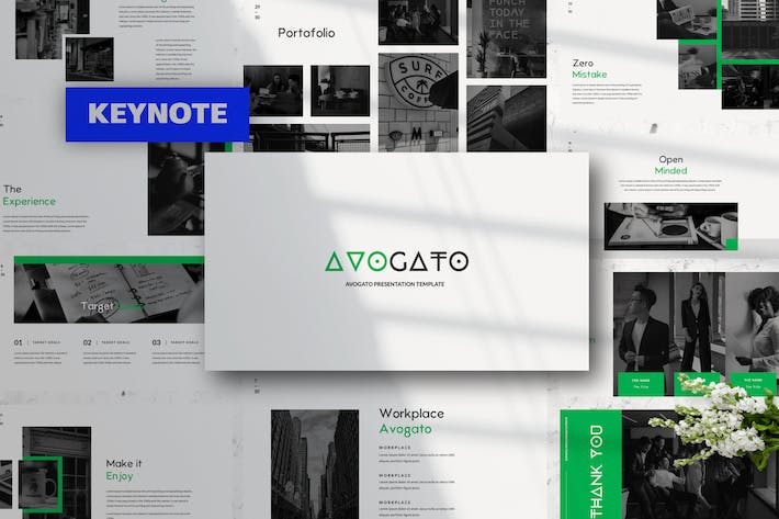 Thumbnail for Avogato Business Keynote