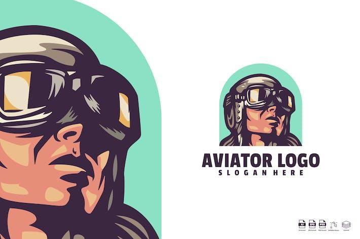 Thumbnail for Aviator Logo Template
