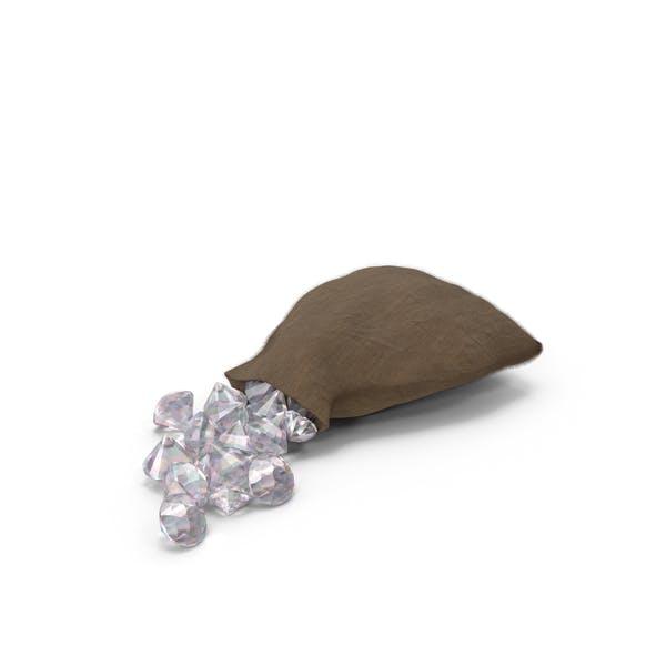 Мешок с большими кристаллами
