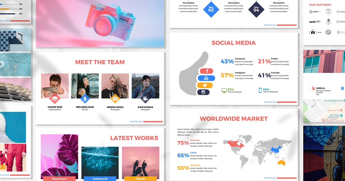 Download Pastelize - Business Powerpoint Template by 83des
