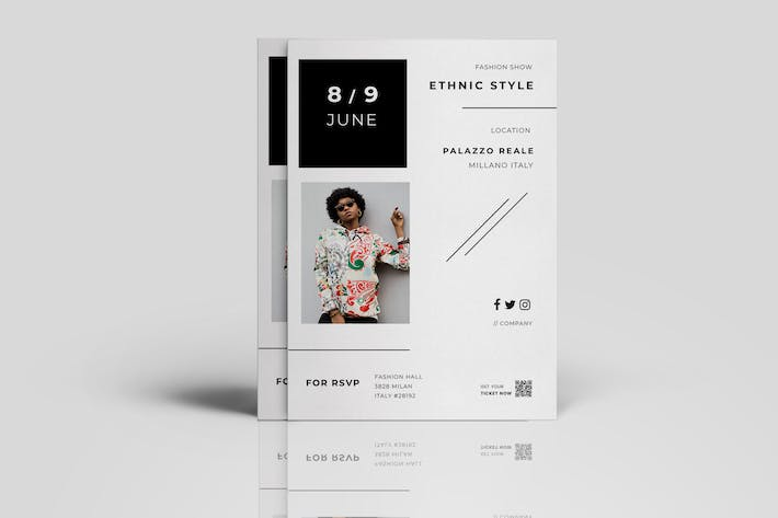 Thumbnail for Minimal Fashion Flyer