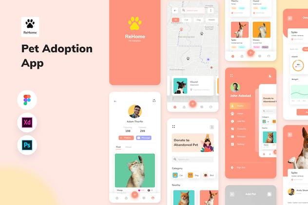 ReHome - Pet Adoption App