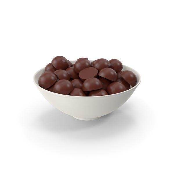 Керамическая чаша с шоколадом