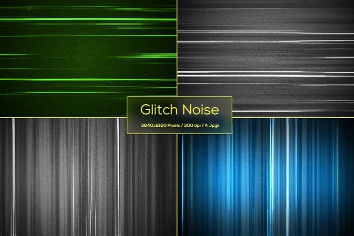 Glitch Noise Backgrounds