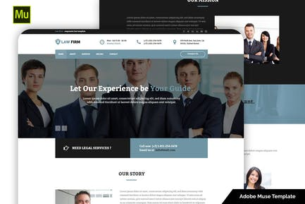 Law Firm – Responsive Law Template