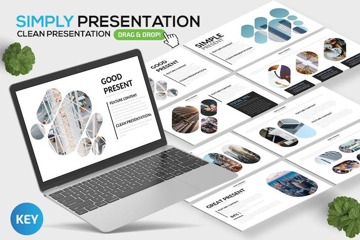 Simply Keynote Presentation