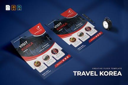 Travel Korea   Flyer